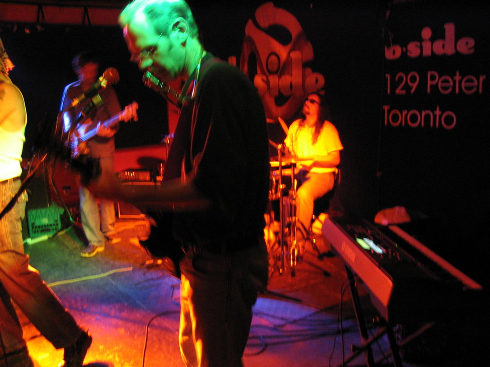 LF at the b-side, March 2004