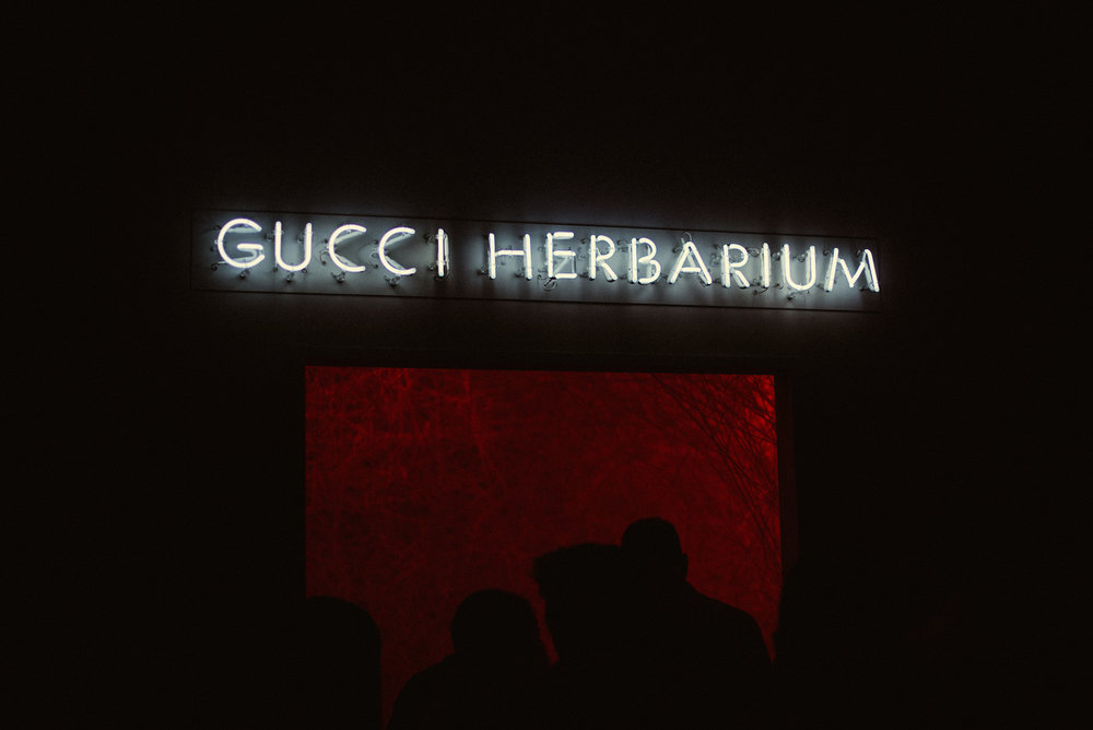 "Gucci ""Herbarium"" Room."