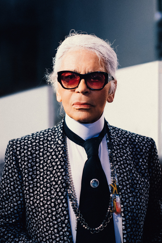 Karl Lagerfeld, 2017