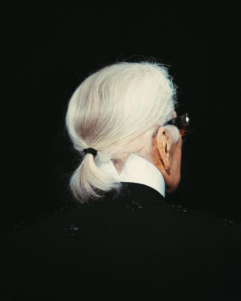 Karl Lagerfeld, 2018