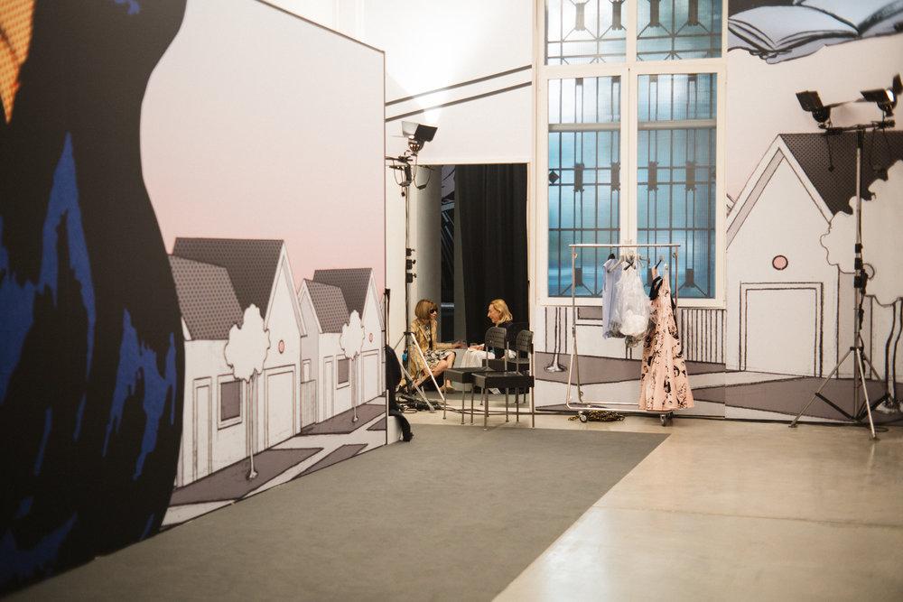 Anna Wintour & Miuccia Prada, Prada Spring 2018