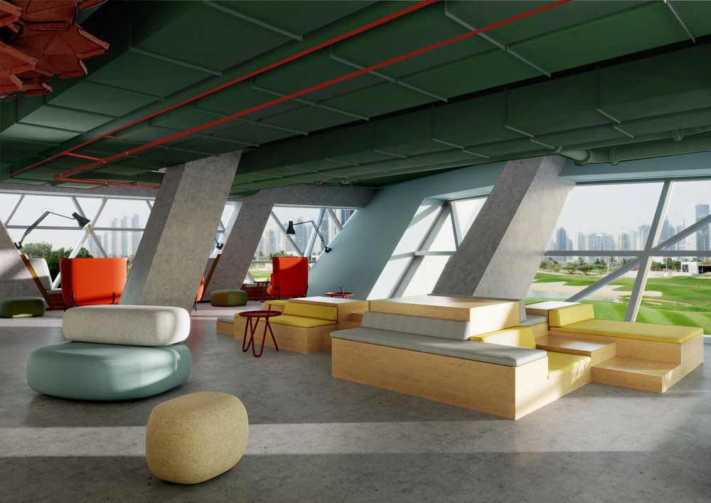 Casual Meeting Spaces