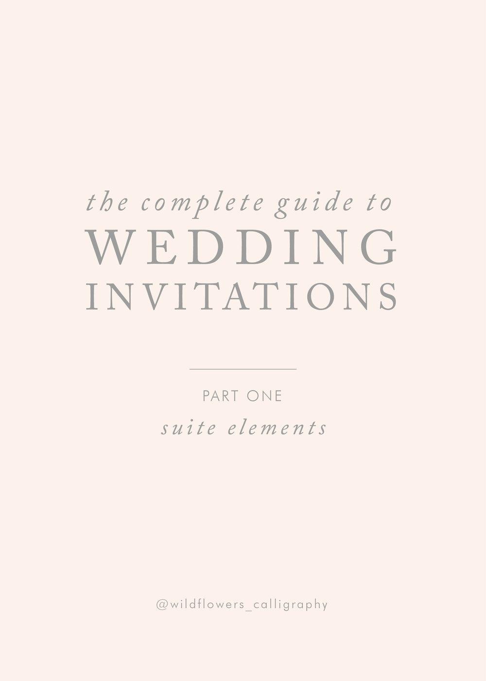 guida partecipazioni- wedding invitations guide - Wildflowers Calligraphy.jpg