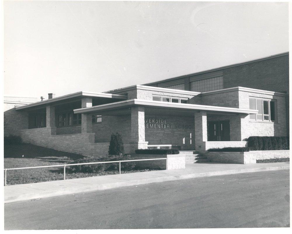 Riverside Entry, 1950's