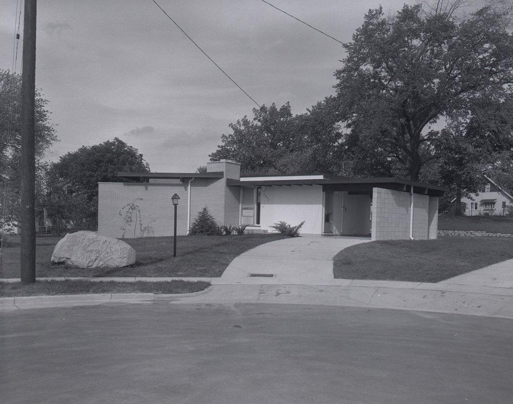 House on Parade Street NE designed by Architect Wayne McClure.