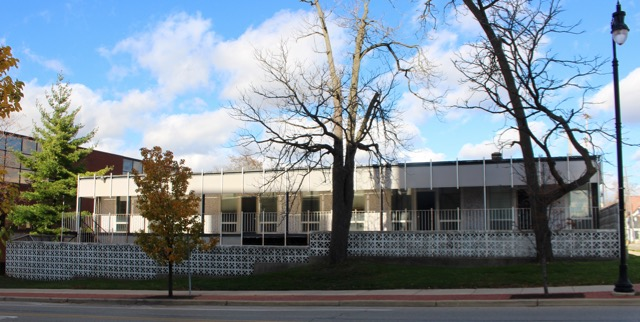 E. John Knapp, AIA, designed the Lafayette Medical Building