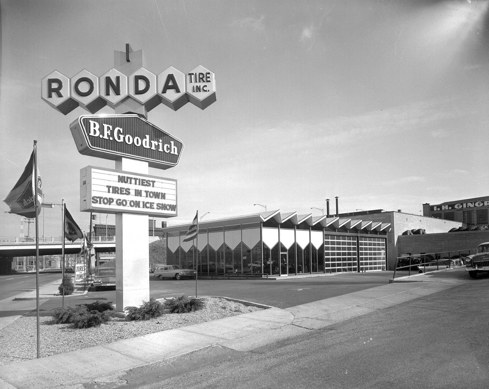 1957 RONDA TIRE BUILDING, GRAND RAPIDS