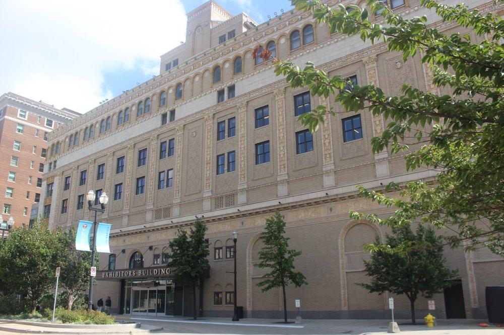 1925 FINE ARTS/EXHIBITORS BUILDING REDESIGN BY BEN HERTEL