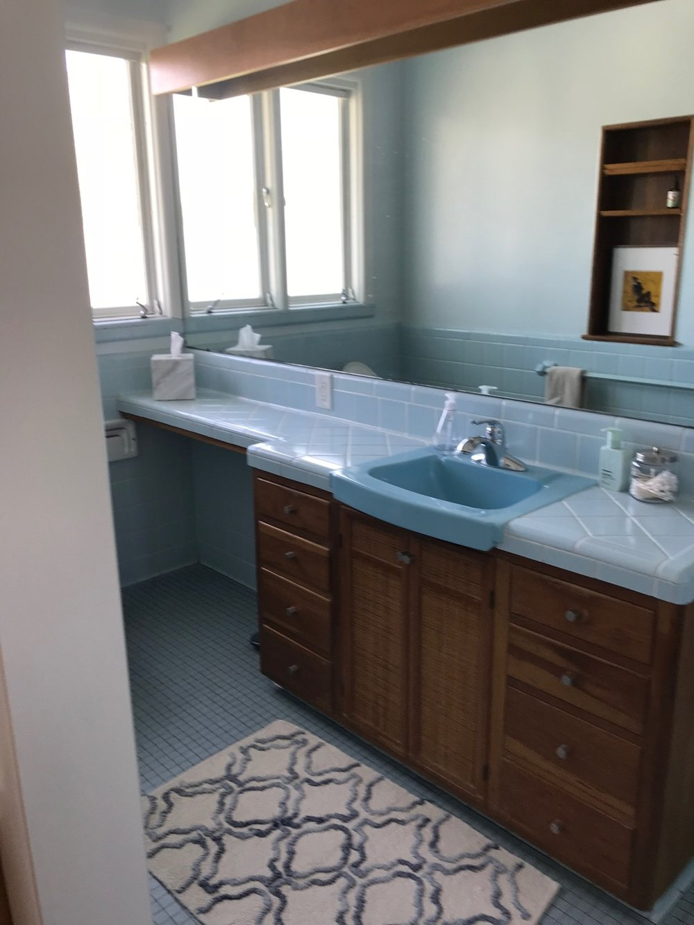 POWDER BLUE BATH 2