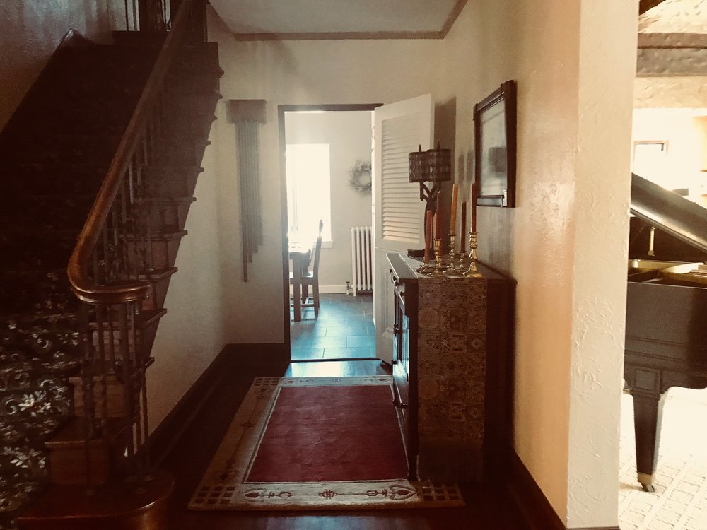 TODAY:  STAIR HALL