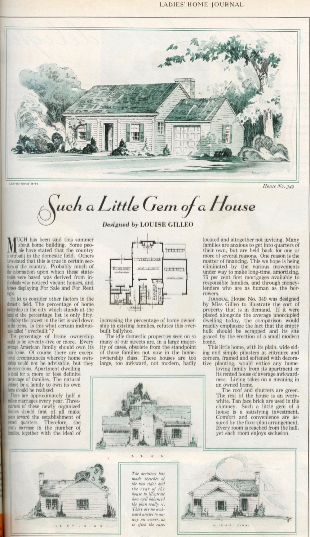 Ladies Home Journal December 1932, page 258.