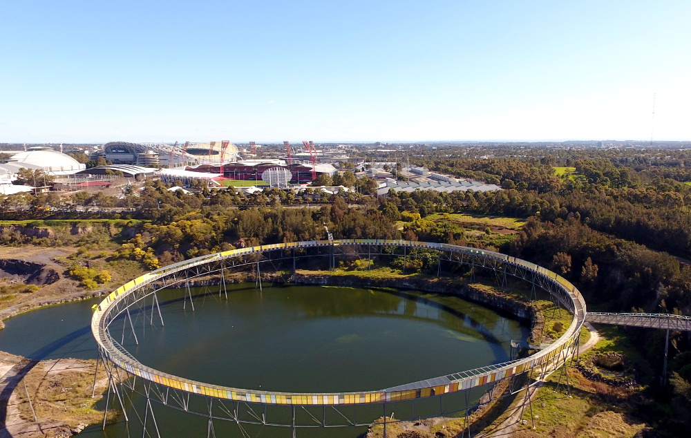 Brickpit Ring Walk, Sydney Olympic Park