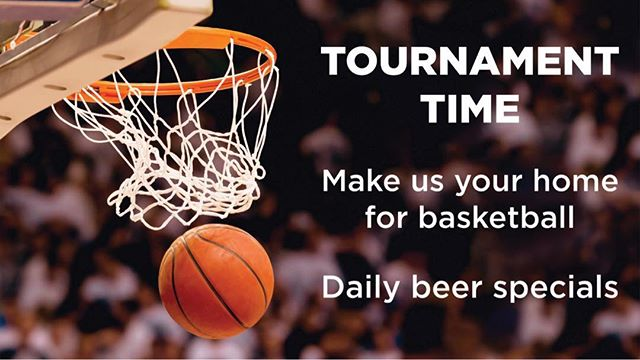 Come enjoy #marchmadness with us! $3 Ground Clouds Cans, $4 so many hoptions IPA, $5 Wells, and half off bottled wine! #raleigh #downtownraleigh #marchmadness2018 #craftbeer #craftfood