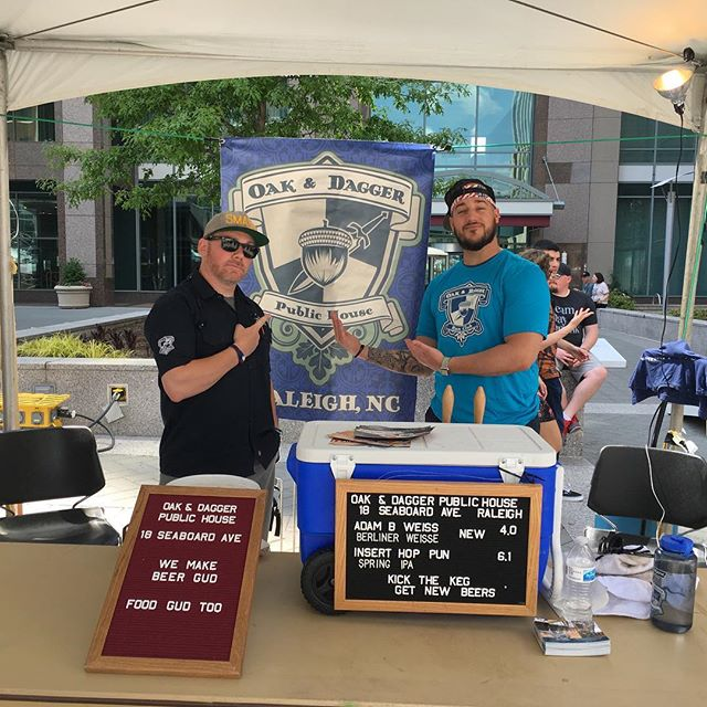 It's Brewgaloo 2018! We are going to have 5 beers on over the course of the day! We are starting the day with our new Berliner Weisse, Adam B Weiss, as well as our Spring IPA, Insert Hop Pun. On deck is What Ales You Golden Ale, Raleigh Pride English Bitter and Coole Beans Coffee Brown Ale. #brewgaloo #craftbeer #berlinerweisse #ipa #beerfestival #ncbeer #raleighbeer