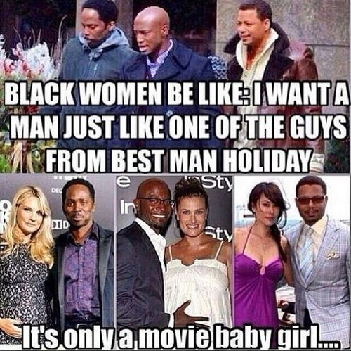 What black women want in a man