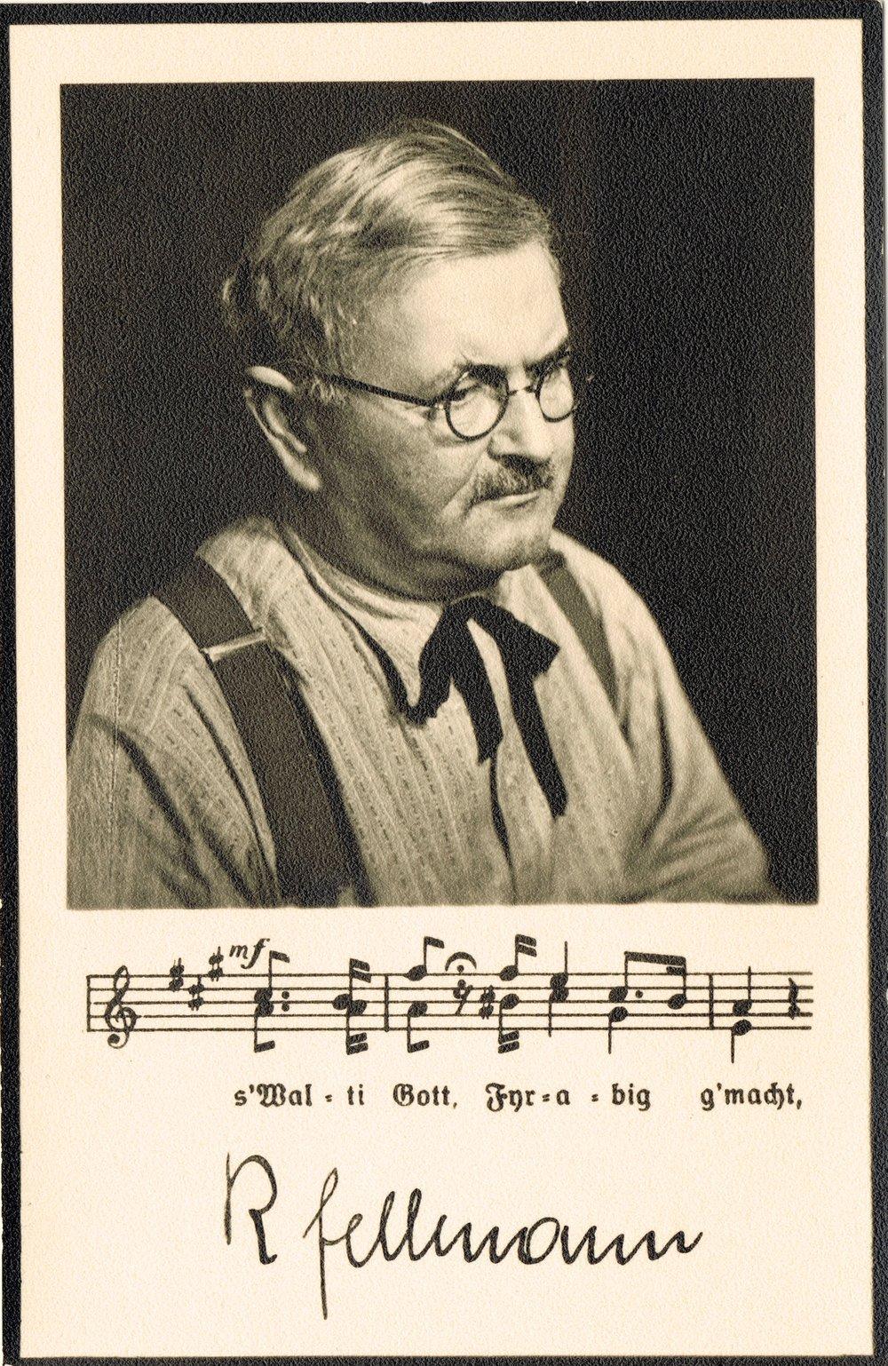 Robert Fellmann.