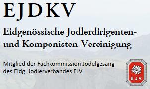Eidgenössische Jodlerdirigenten- und Komponisten-Vereinigung EJDKV.