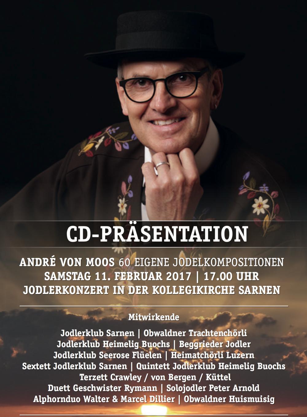 CD-Präsentation «Seeläspiägel» von André von Moos.
