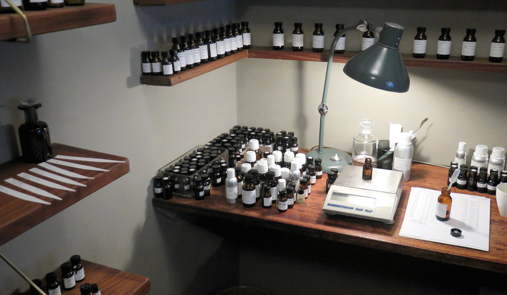 Perfumer H lab interior