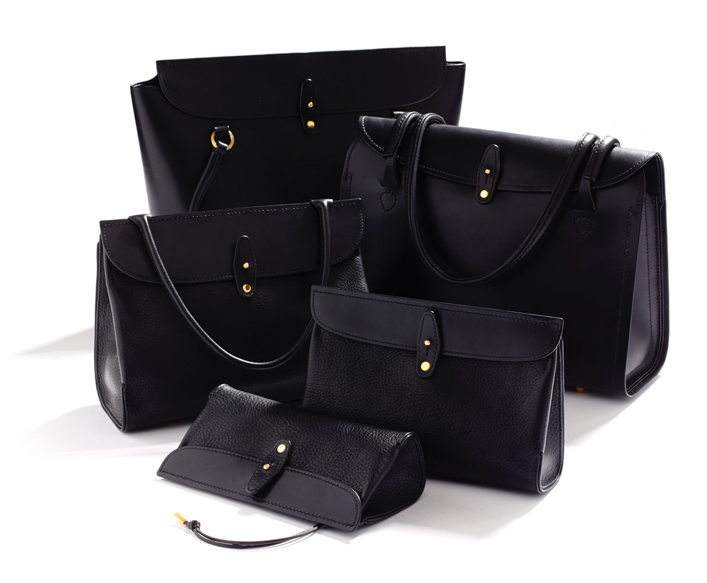 The Core Collection - Five refined handbag designs, hand-crafted to order.