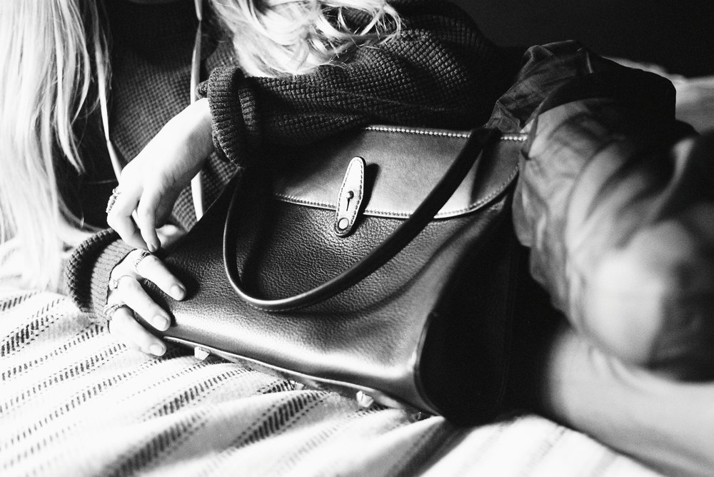 Tallowin Kettlebell handbag / Brittany Quinn