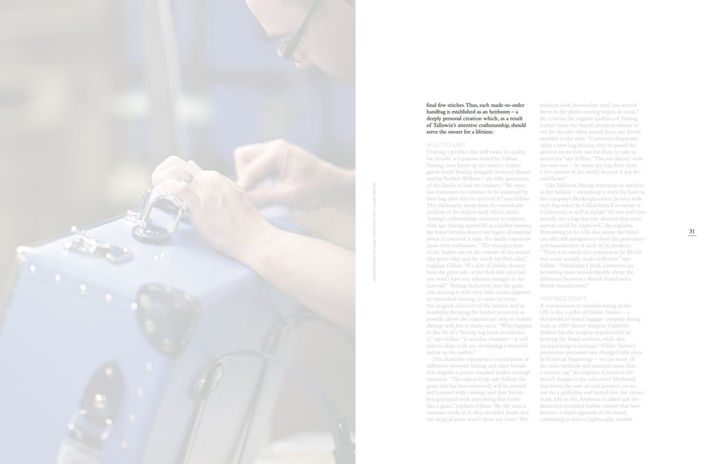"Tallowin Press Coverage : ""Masters of Craft"" - INLondon Magazine"
