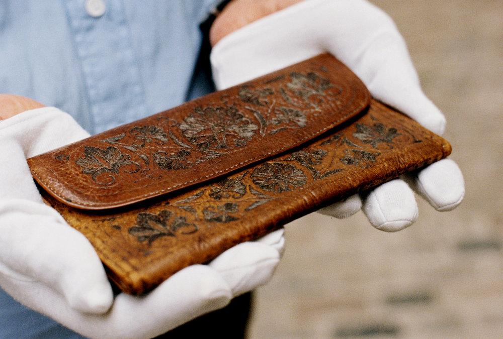 Samuel Pepys' Wallet - front