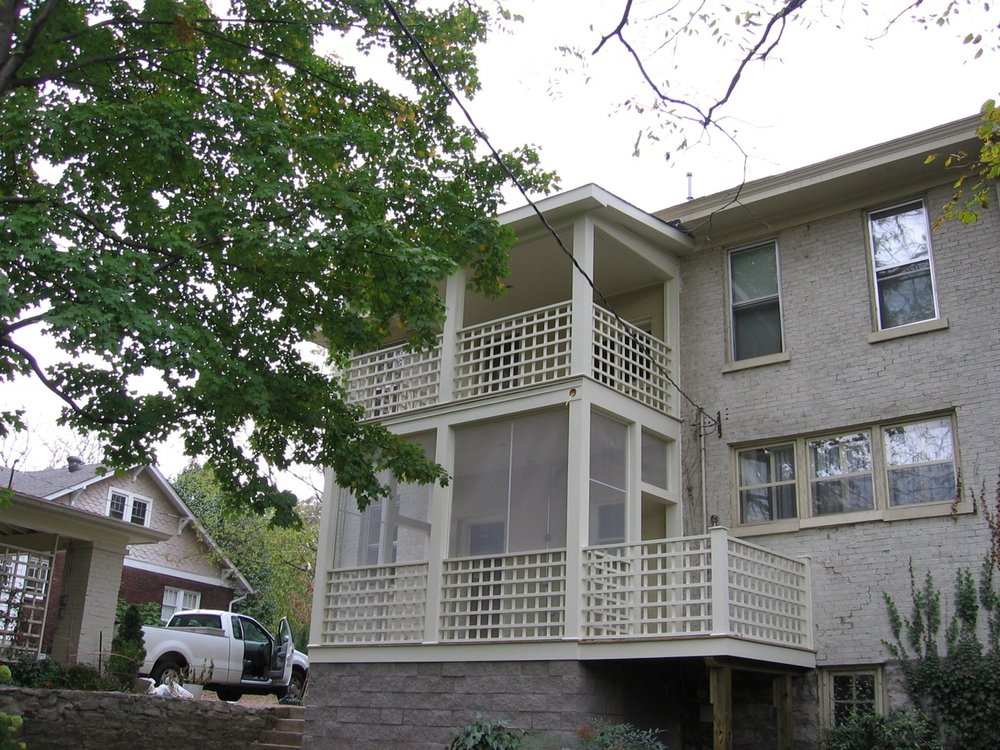 Multi-Level Porch