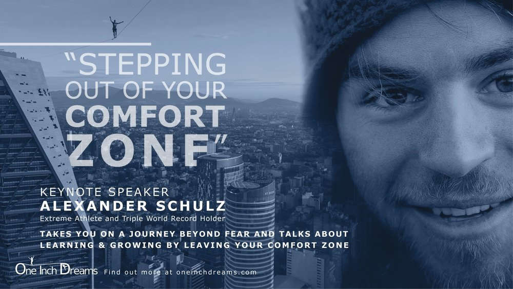 Alexander Schulz Vortrag Verlassen der Komfortzone - Stepping out of your comfort zone.jpg