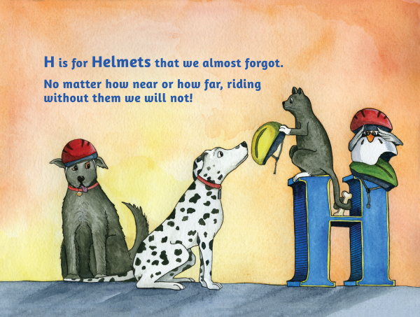 H is for Helmets
