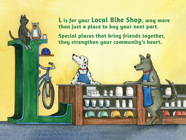 L is for Local Bike Shop