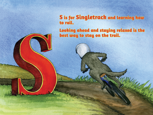 S is for Singletrack