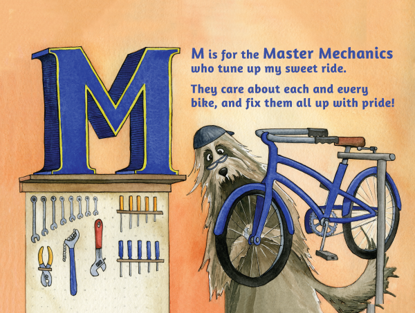 M is for Master Mechanic