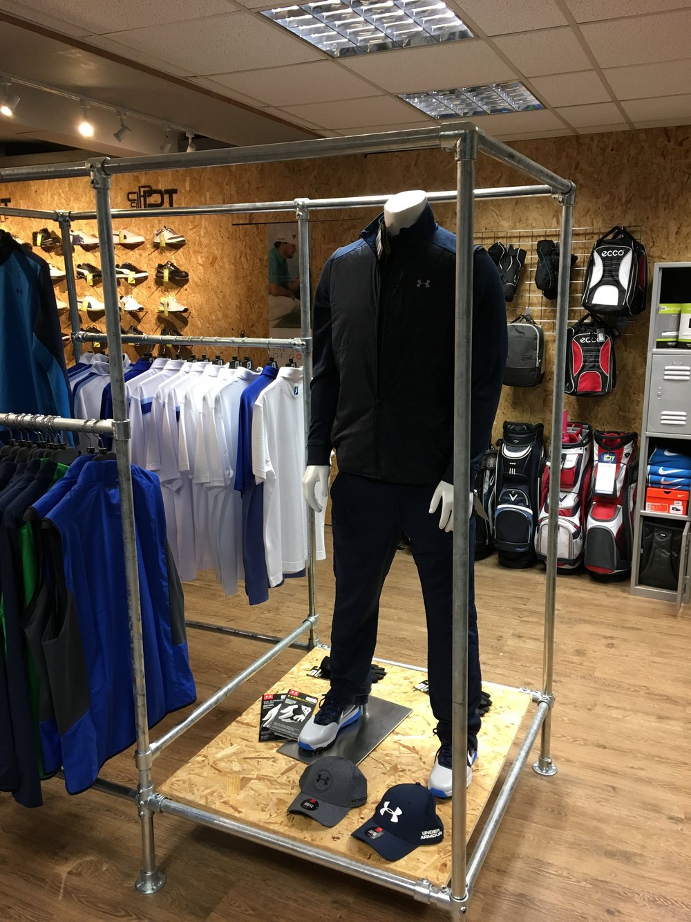 PT Golf In Store Display