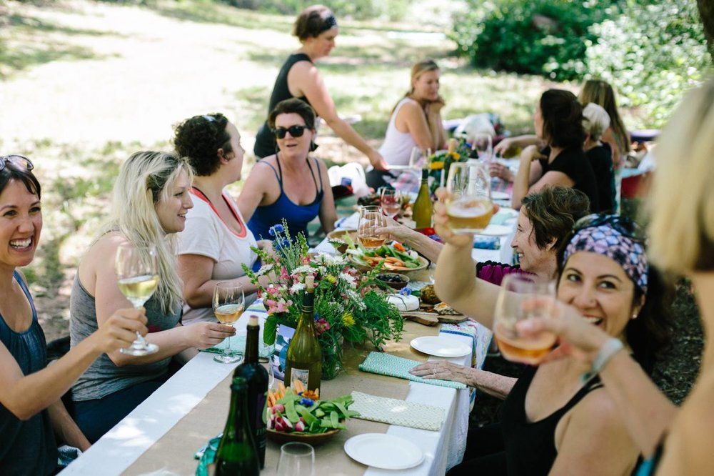 The Yoga Dive - Ladies Yoga & Wine Tasting