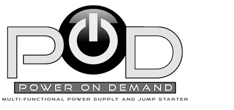 Pod Power On Demand Multi Functional Power Supply and Jump Starter