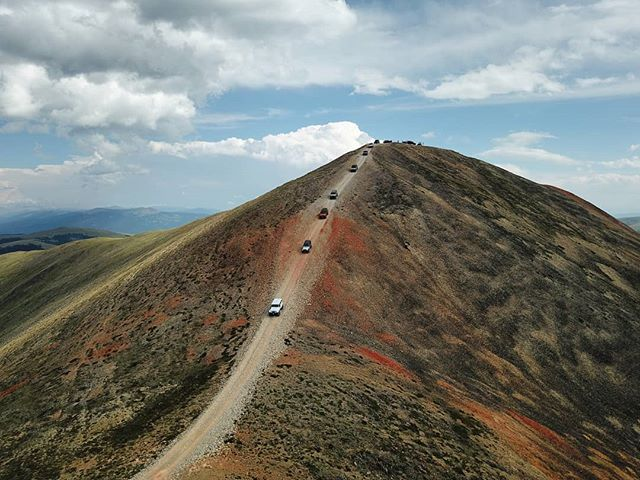 Tiger Run Jeepers descending Red Cone