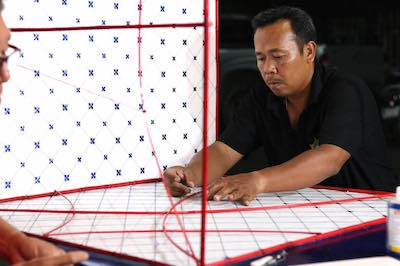 Studio Makkink&Bey and local kite maker collaboration