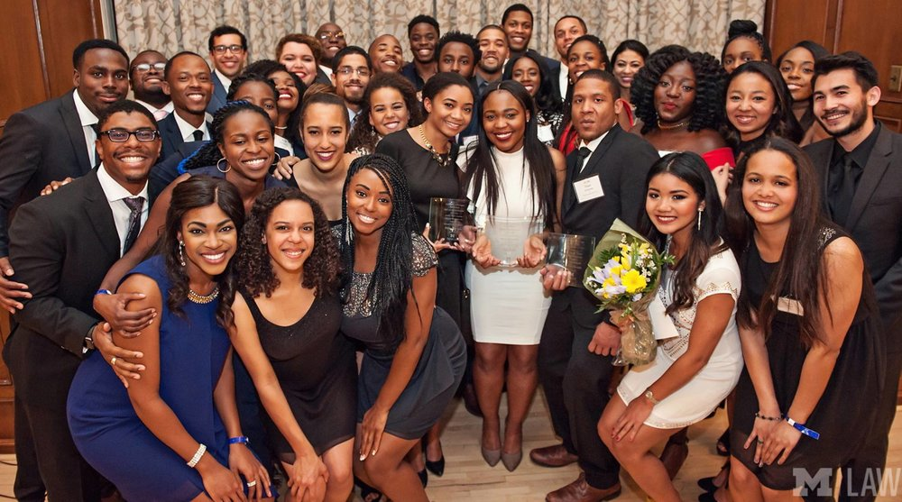 BLSA Members at the 2017 Butch Carpenter Memorial Gala.