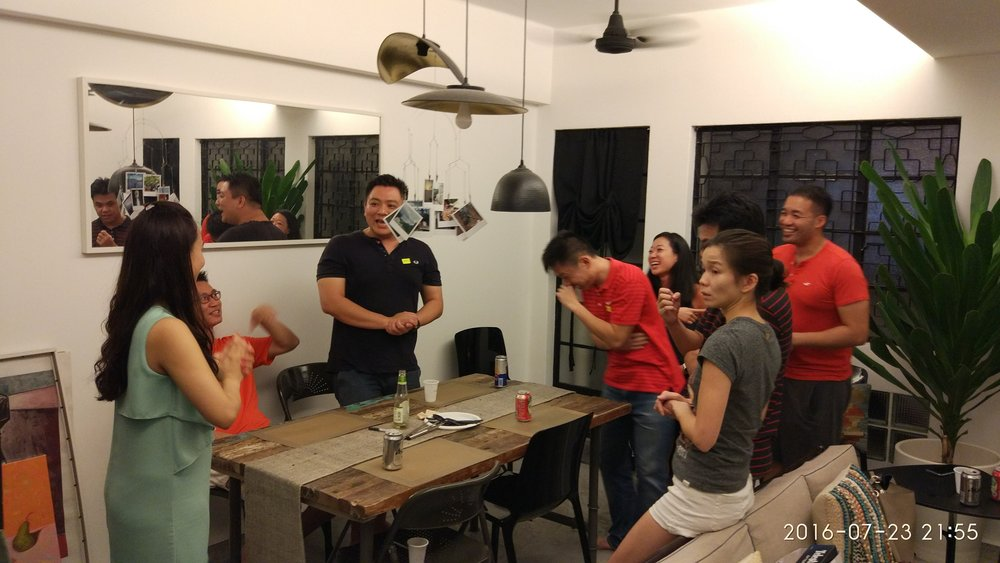 Board Game Home Party Tiong Bahru