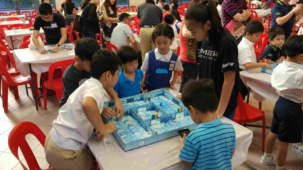 Ice Cool Board Game for Pri 1 to Pri 2