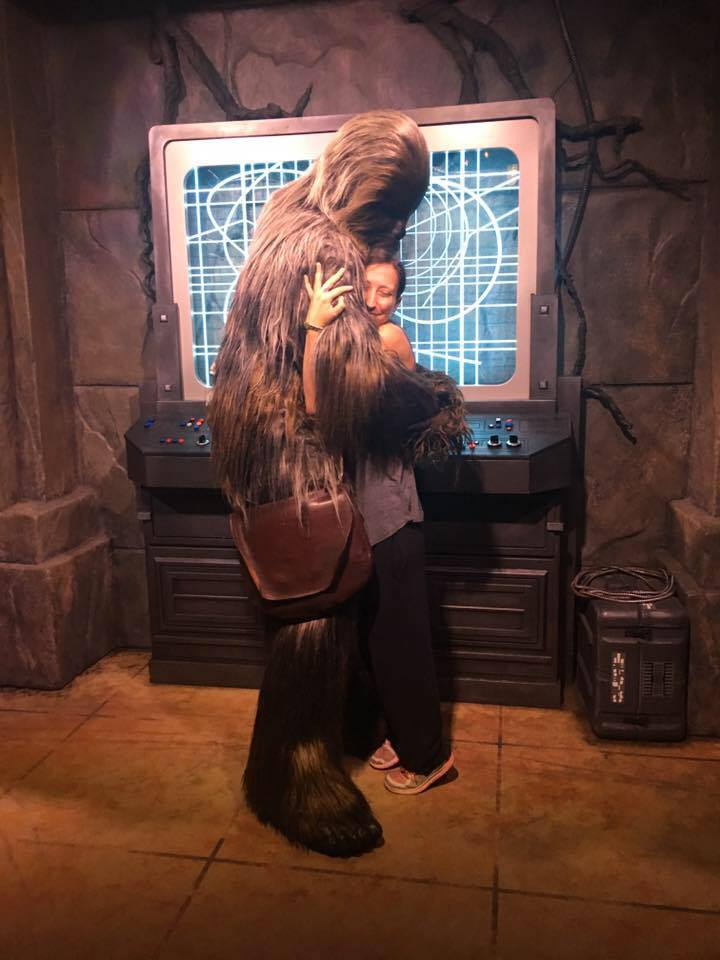 Everyone needs a Wookie hug