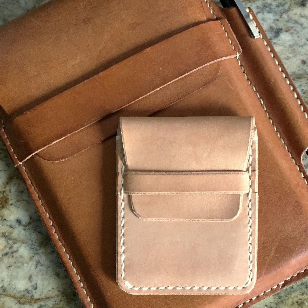Wallet No. 1 atop a Journal Case
