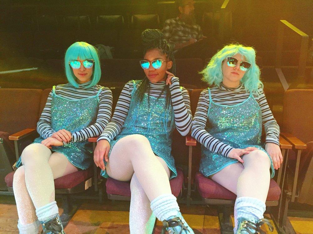 Blue Fairy Chorus in LITTLE BUNNY FOO FOO