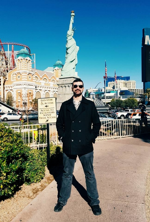 At New York New York, Las Vegas