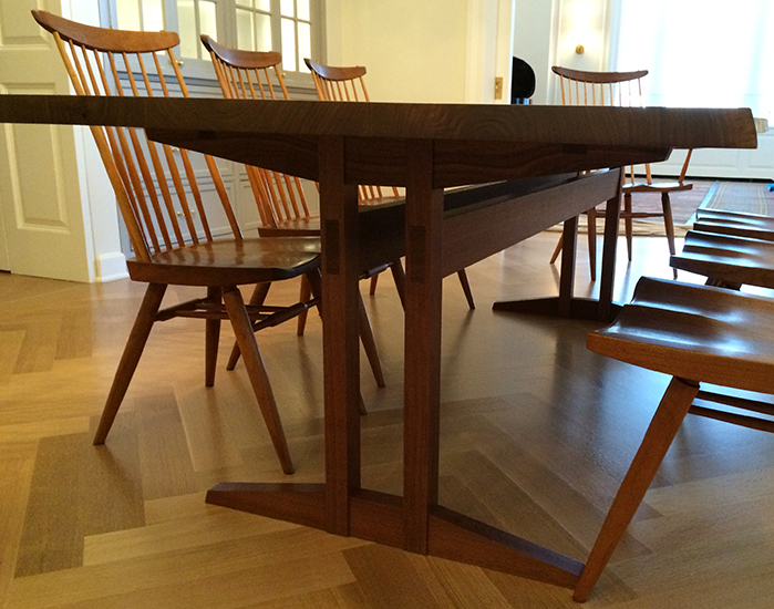 Wickham Double Trestle Table 08
