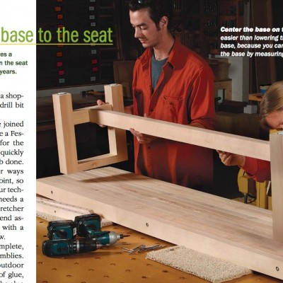 Deconstructed In Fine Woodworking Magazine Wickham Solid Wood Studio