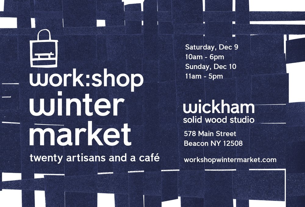 workshop winter market in beacon ny