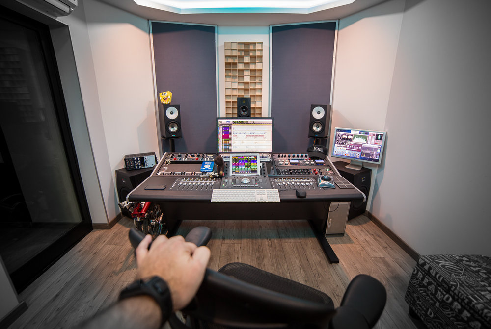 Willy Antico Mixing Room