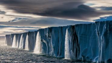 Meltwater off an ice cap on Nordaustlandet, Norway (Photo: Paul Nicklen)
